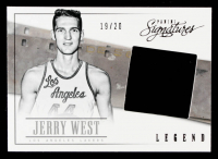 Jerry West 2013-14 Panini Signatures Film Onyx #143 #19/20 at PristineAuction.com