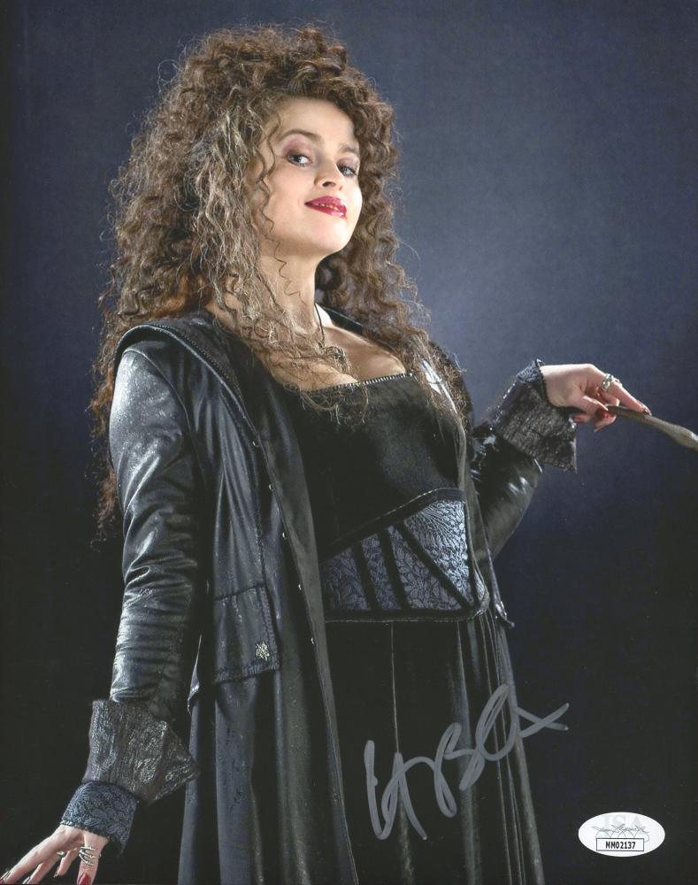 """Helena Bonham Carter Signed """"Harry Potter"""" 8x10 Photo (JSA Hologram) at PristineAuction.com"""