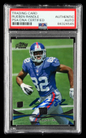 Rueben Randle Signed 2012 Topps Prime #28 RC (PSA Encapsulated) at PristineAuction.com