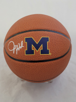 Juwan Howard Signed Michigan Wolverines Logo Basketball (Beckett Hologram) at PristineAuction.com