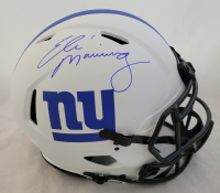 Eli Manning Signed Giants Full-Size Authentic On-Field Lunar Eclipse Alternate Speed Helmet (Fanatics Hologram) at PristineAuction.com