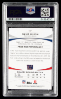 David Wilson Signed 2012 Topps Prime #137 RC (PSA Encapsulated) at PristineAuction.com
