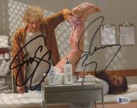"Jim Carrey & Jeff Daniels Signed ""Dumb & Dumber To"" 8x10 Photo (Beckett Hologram) at PristineAuction.com"