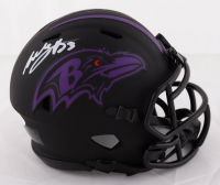 Willis McGahee Signed Ravens Eclipse Alternate Speed Mini Helmet (JSA COA) at PristineAuction.com