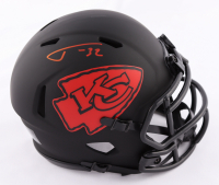 Tyrann Mathieu Signed Chiefs Eclipse Alternate Speed Mini Helmet (JSA COA) at PristineAuction.com