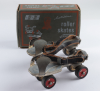 Vintage Unused Ted Williams Roller Skates with Original Box at PristineAuction.com
