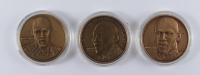 Michael Jordan Upper Deck Set of Three Commemorative Coins at PristineAuction.com