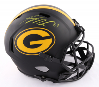 Jordy Nelson Signed Packers Full-Size Eclipse Alternate Speed Helmet (Beckett Hologram) at PristineAuction.com