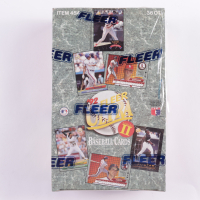 1992 Fleer Ultra Series 2 Baseball Wax Box with (36) Packs (See Description) at PristineAuction.com