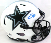 Emmitt Smith Signed Cowboys Full-Size Authentic On-Field Lunar Eclipse Alternate Speed Helmet (Beckett Hologram) at PristineAuction.com
