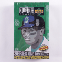 1994 Upper Deck Collector's Choice Series 1 Baseball Hobby Box with (36) Packs at PristineAuction.com