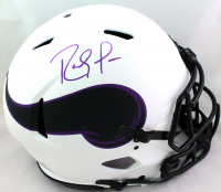 Randy Moss Signed Vikings Full-Size Authentic On-Field Lunar Eclipse Alternate Speed Helmet (Beckett Hologram) at PristineAuction.com