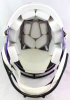"""Randy Moss Signed Vikings Full-Size Authentic On-Field Speed Helmet Inscribed """"Straight Cash Homie"""" (Beckett Hologram) at PristineAuction.com"""