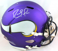 Randy Moss Signed Vikings Full-Size Authentic On-Field Speed Helmet (Beckett Hologram) at PristineAuction.com