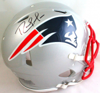 Randy Moss Signed Patriots Full-Size Authentic On-Field Speed Helmet (Beckett Hologram) at PristineAuction.com
