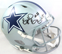 Ezekiel Elliott Signed Cowboys Full-Size Authentic On-Field Speed Helmet (Beckett Hologram) at PristineAuction.com