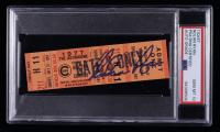 Nolan Ryan Signed 1977 Astros Ticket Stub (PSA Encapsulated) at PristineAuction.com