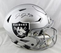 Josh Jacobs Signed Raiders Full-Size Authentic On-Field SpeedFlex Helmet (Beckett Hologram) at PristineAuction.com