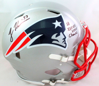 """Rodney Harrison Signed Patriots Full-Size Authentic On-Field Speed Helmet Inscribed """"SB XXXVIII XXXIX Champs"""" (Beckett Hologram) at PristineAuction.com"""