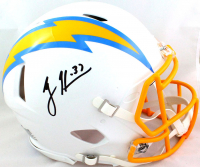 Rodney Harrison Signed Chargers Full-Size Authentic On-Field Speed Helmet (Beckett Hologram) at PristineAuction.com