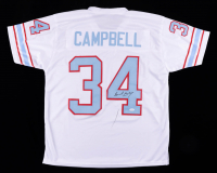 Earl Campbell Signed Jersey (JSA COA) (See Description) at PristineAuction.com