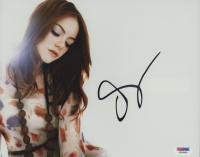 Emma Stone Signed 8x10 Photo (PSA COA) at PristineAuction.com