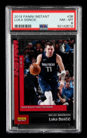 Luka Doncic 2019-20 Panini Instant #38 (PSA 8) at PristineAuction.com