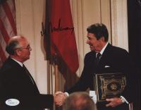 Mikhail Gorbachev Signed 8x10 Photo (JSA COA) at PristineAuction.com