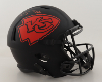 Tyrann Mathieu Signed Cheifs Full-Size Eclipse Alternate Speed Helmet (JSA COA) at PristineAuction.com
