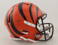 Joe Burrow Signed Bengals Full-Size Speed Helmet (Fanatics Hologram) at PristineAuction.com