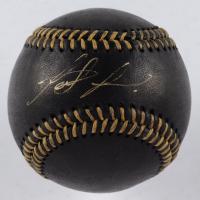 Fernando Tatis Jr. Signed OML Black Leather Baseball (JSA COA) at PristineAuction.com