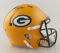 Davante Adams Signed Packers Full-Size Speed Helmet (JSA COA) at PristineAuction.com