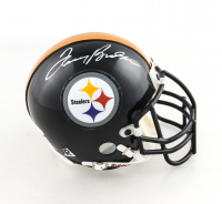 Terry Bradshaw Signed Steelers Mini Helmet (JSA COA) at PristineAuction.com