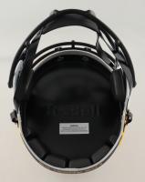 Torry Holt Signed Rams Lunar Eclipse Alternate Speed Helmet (Beckett Hologram) at PristineAuction.com