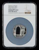 Cook Islands 2012 Silver $10 Windows of Heaven - Church of St. Francis Krakow, Poland (NGC PF69 Ultra Cameo) at PristineAuction.com