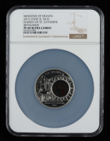 Cook Islands 2012 Silver $10 Windows of Heaven - Church of St. Catherine Bethlehem (NGC PF69 Ultra Cameo) at PristineAuction.com
