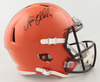 Nick Chubb Signed Browns Full-Size Speed Helmet (Beckett COA) at PristineAuction.com