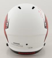 Leonard Fournette Signed Buccaneers Full-Size Lunar Eclipse Alternate Speed Helmet (Fanatics Hologram) at PristineAuction.com