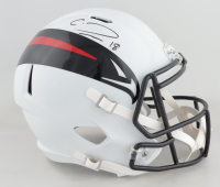 Calvin Ridley Signed Falcons Full-Size AMP Alternate Speed Helmet (Beckett COA) (See Description) at PristineAuction.com