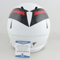 Calvin Ridley Signed Falcons Full-Size AMP Alternate Speed Helmet (Beckett COA) (See Description) at PristineAuction.com