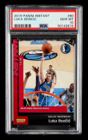 Luka Doncic 2018-19 Panini Instant #60 (PSA 10) at PristineAuction.com