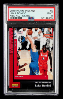 Luka Doncic 2018-19 Panini Instant #5 (PSA 9) at PristineAuction.com