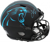 Jeremy Chinn Signed Panthers Full-Size Authentic On-Field Eclipse Alternate Speed Helmet (Radtke COA) at PristineAuction.com