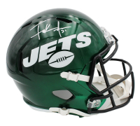 Frank Gore Signed Jets Full-Size Speed Helmet (Radtke COA) at PristineAuction.com