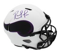 Randy Moss Signed Vikings Full-Size Lunar Eclipse Alternate Speed Helmet (Beckett COA) at PristineAuction.com