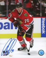 Dennis Rasmussen Signed Blackhawks 8x10 Photo (SideLine Hologram) at PristineAuction.com