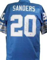 Barry Sanders Signed Lions Jersey (JSA COA & Schwartz Hologram) at PristineAuction.com