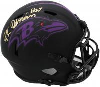 J. K. Dobbins Signed Ravens Full-Size Eclipse Alternate Speed Helmet (JSA COA) at PristineAuction.com