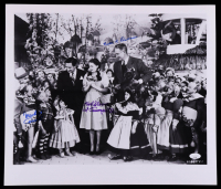 """Mickey Carroll, Ruth Duccini, & Karl Slover """"The Wizard of Oz"""" 16x18.5 Photo Inscribed """"1st Trumpeter"""" (JSA COA) at PristineAuction.com"""