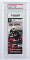 2012 Cardinals VS Seahawks NFL Game 3 Ticket (PSA 3) at PristineAuction.com